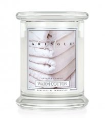 Warm Cotton 2-wick Kringle Candle