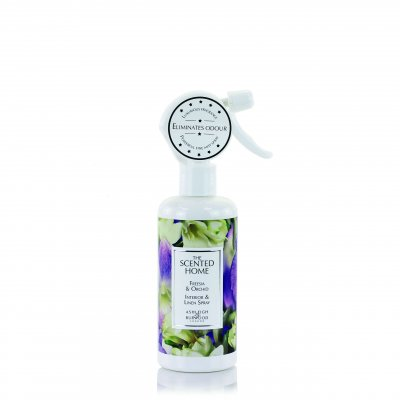 Freesia & Orchid Linne spray Ashleigh & Burwood