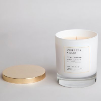 Doftljus White Tea & Sage Sthlm Fragrance Supplier