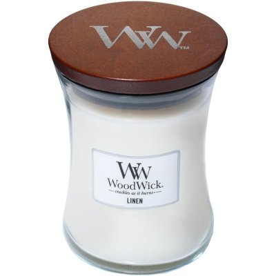 Wood Wick Linen Medium