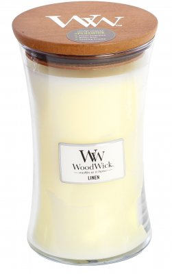 Wood Wick Linen large