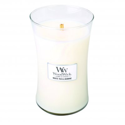 Wood Wick White Tea & Jasmine large