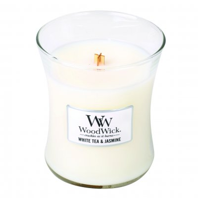 Wood Wick White Tea & jasmin Medium